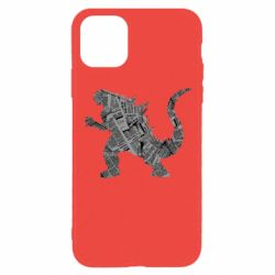 Чохол для iPhone 11 Pro Max Godzilla from the newspapers