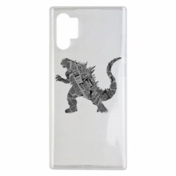 Чохол для Samsung Note 10 Plus Godzilla from the newspapers