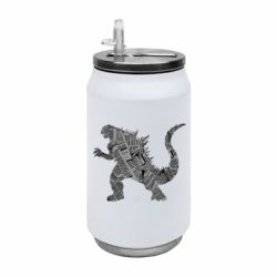 Термобанка 350ml Godzilla from the newspapers