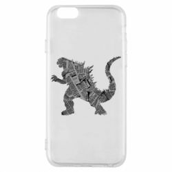 Чохол для iPhone 6/6S Godzilla from the newspapers