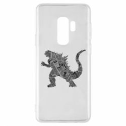 Чохол для Samsung S9+ Godzilla from the newspapers