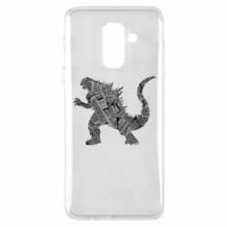 Чохол для Samsung A6+ 2018 Godzilla from the newspapers
