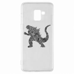 Чохол для Samsung A8+ 2018 Godzilla from the newspapers
