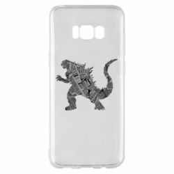 Чохол для Samsung S8+ Godzilla from the newspapers