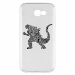 Чохол для Samsung A7 2017 Godzilla from the newspapers