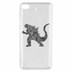 Чохол для Xiaomi Mi 5s Godzilla from the newspapers
