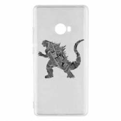 Чохол для Xiaomi Mi Note 2 Godzilla from the newspapers