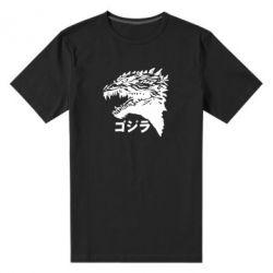 Чоловіча стрейчева футболка Godzilla in japanese