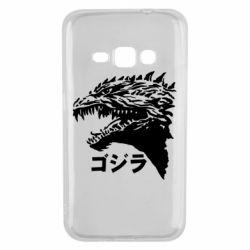 Чохол для Samsung J1 2016 Godzilla in japanese