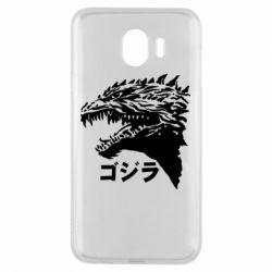 Чохол для Samsung J4 Godzilla in japanese