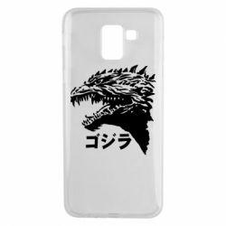 Чохол для Samsung J6 Godzilla in japanese