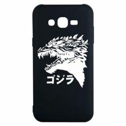 Чохол для Samsung J7 2015 Godzilla in japanese