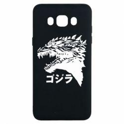 Чохол для Samsung J7 2016 Godzilla in japanese
