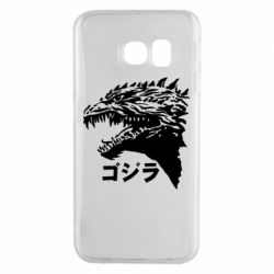Чохол для Samsung S6 EDGE Godzilla in japanese