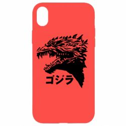 Чохол для iPhone XR Godzilla in japanese