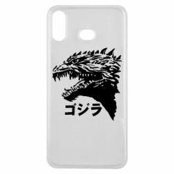 Чохол для Samsung A6s Godzilla in japanese