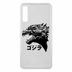 Чохол для Samsung A7 2018 Godzilla in japanese