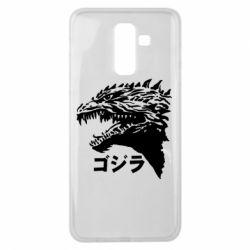 Чохол для Samsung J8 2018 Godzilla in japanese