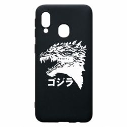 Чохол для Samsung A40 Godzilla in japanese