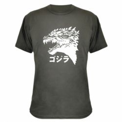 Камуфляжна футболка Godzilla in japanese