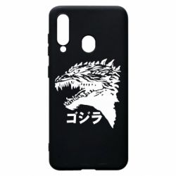 Чохол для Samsung A60 Godzilla in japanese
