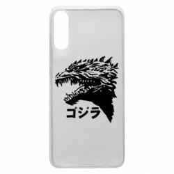 Чохол для Samsung A70 Godzilla in japanese