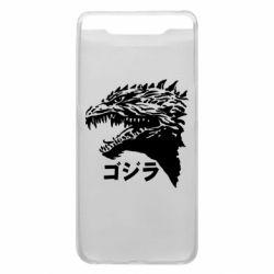 Чохол для Samsung A80 Godzilla in japanese