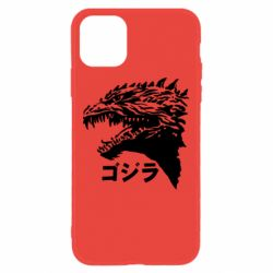Чохол для iPhone 11 Godzilla in japanese