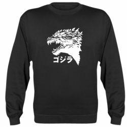 Реглан (світшот) Godzilla in japanese