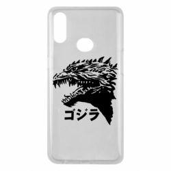 Чохол для Samsung A10s Godzilla in japanese