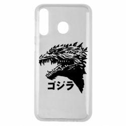Чохол для Samsung M30 Godzilla in japanese