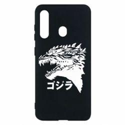 Чохол для Samsung M40 Godzilla in japanese