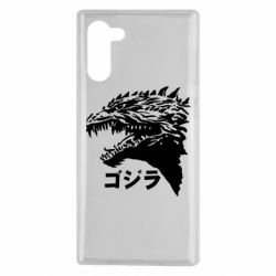 Чохол для Samsung Note 10 Godzilla in japanese