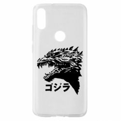 Чохол для Xiaomi Mi Play Godzilla in japanese