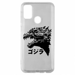 Чохол для Samsung M30s Godzilla in japanese