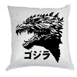 Подушка Godzilla in japanese