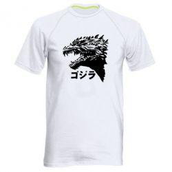 Чоловіча спортивна футболка Godzilla in japanese