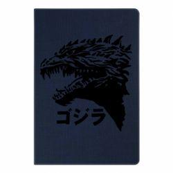 Блокнот А5 Godzilla in japanese