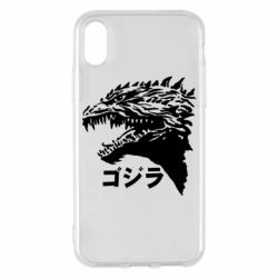 Чохол для iPhone X/Xs Godzilla in japanese