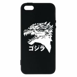 Чохол для iphone 5/5S/SE Godzilla in japanese