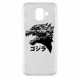 Чохол для Samsung A6 2018 Godzilla in japanese