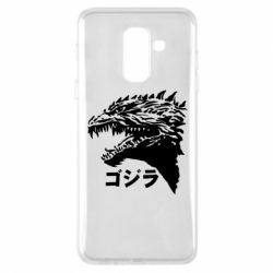Чохол для Samsung A6+ 2018 Godzilla in japanese