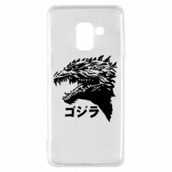 Чохол для Samsung A8 2018 Godzilla in japanese