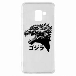 Чохол для Samsung A8+ 2018 Godzilla in japanese