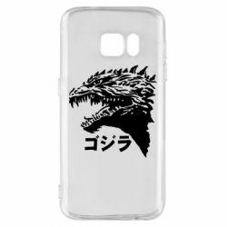 Чохол для Samsung S7 Godzilla in japanese