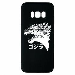 Чохол для Samsung S8 Godzilla in japanese