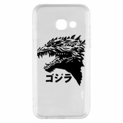 Чохол для Samsung A3 2017 Godzilla in japanese