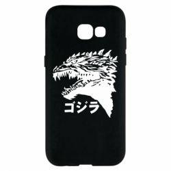 Чохол для Samsung A5 2017 Godzilla in japanese