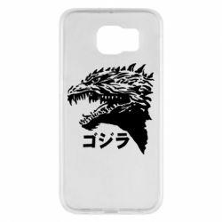 Чохол для Samsung S6 Godzilla in japanese
