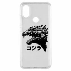 Чохол для Xiaomi Mi A2 Godzilla in japanese